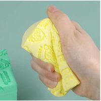 1 serviette de bain de massage exfoliante pour bébé éponge -