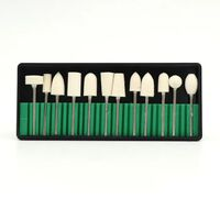 Mini jeu de forets à ongles - outils abrasifs en quartz ayant des